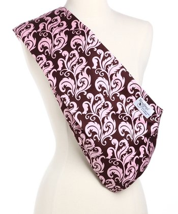 Pink & Brown Rosa Padded Sling