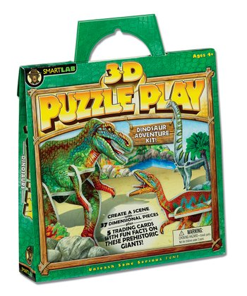 Dinosaurs 3-D Puzzle Play Set