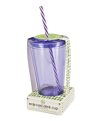 Purple Swirl 16-Oz. Eco Cold Drink Cup
