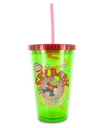 Green Cry Baby Cold Cup