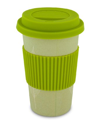 Leaves 12-Oz. Bamboo Eco Cup