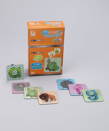 Animal Alphabet 3-D Magic Magnet Set