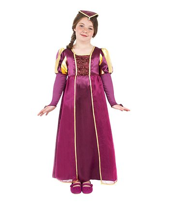Purple Tudor Dress-Up Set - Kids