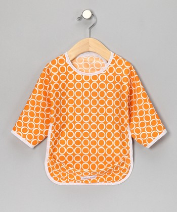 Jack-o'-Lantern Make-a-Mess Bib