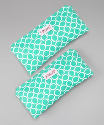 Smitten Baby Teal Time Sandwich Podz - Set of Two