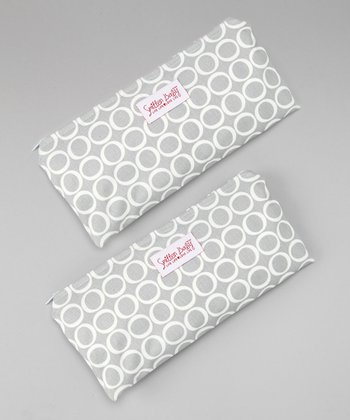 Smitten Baby Silver Cloud Sandwich Podz - Set of Two