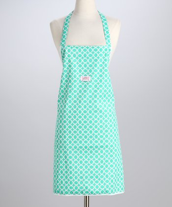 Teal Time Apron - Adult