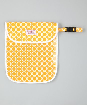 Smitten Baby Canary Clear Handy Tote