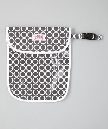Smitten Baby Pewter Clear Handy Tote