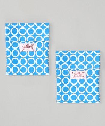 Smitten Baby Regatta Royale Flip It Snack Bag - Set of Two
