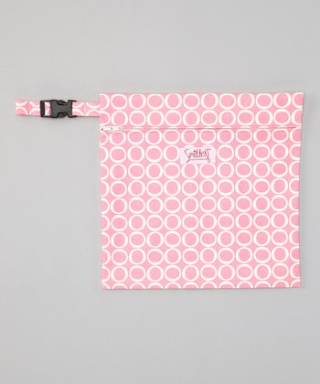 Smitten Baby Chateau Rose Wet Tote