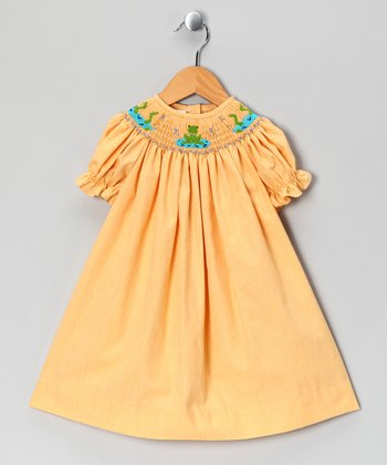 Sunshine Frog Pond Bishop Dress - Infant & Toddler