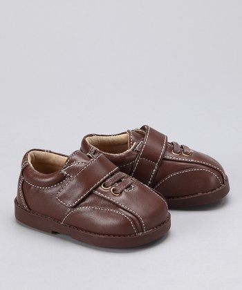Brown Squeaker Shoe
