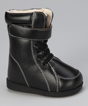 Black Commando Squeaker Boot