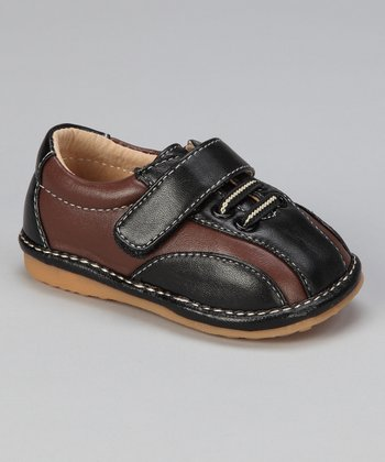 Black & Brown Squeaker Shoe