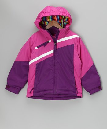 Pink Shimmer Peyton Jacket - Toddler & Girls