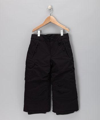 Black Rock Solid Pants - Toddler & Boys