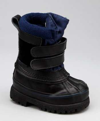 Snowy Creek Black & Navy Pac Snow Boot