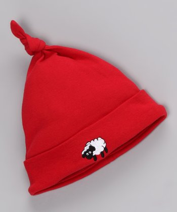 Red Sheep Single-Knot Beanie