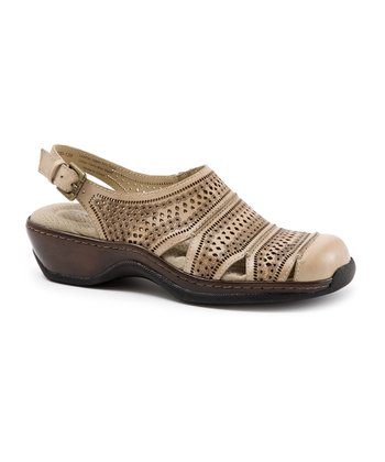 SoftWalk Beige Avalon Sandal