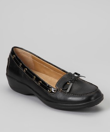 Black Ally Boat Shoe