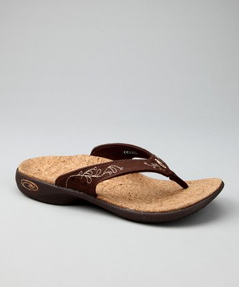 Sonoma Brown Casual Flip-Flop - Women