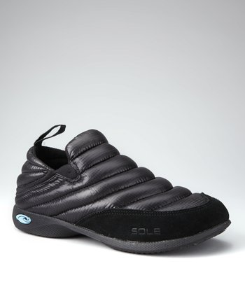 Jet Black Exhale Sneaker - Women