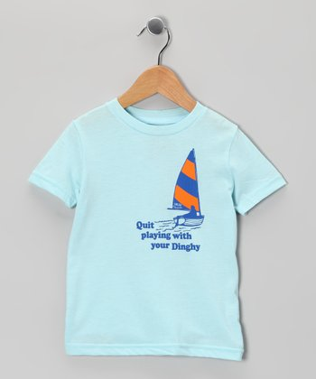Light Blue 'Dinghy' Tee - Toddler & Kids