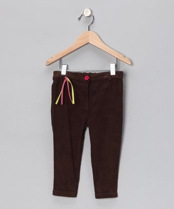 Brown Corduroy Pants - Infant