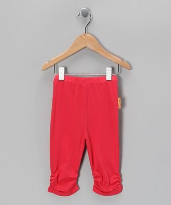 Cerise Leggings - Infant, Toddler & Girls