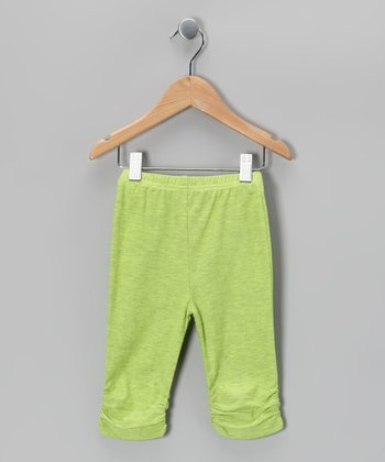 Lime Pop Leggings - Infant, Toddler & Girls