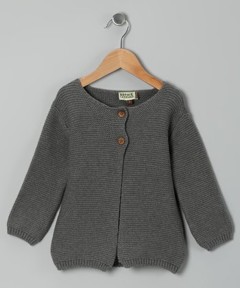 Husky Heavy-Gauge Cardigan - Toddler