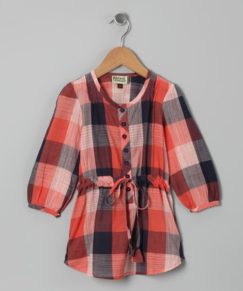 Ikat Shirt Dress - Toddler & Girls