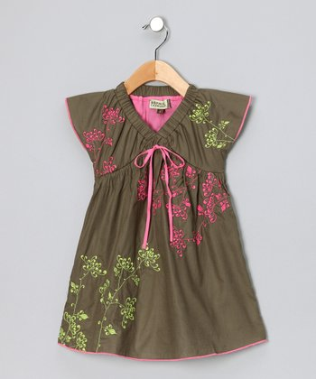 Olive Felicity Dress - Girls