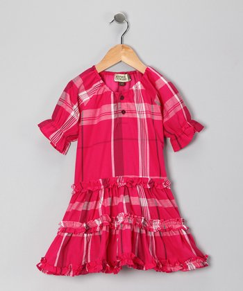 Hot Pink Hallie Dress - Infant, Toddler & Girls