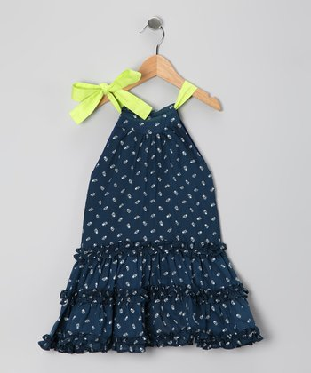 Indigo Tia Ruffle Dress - Infant, Toddler & Girls