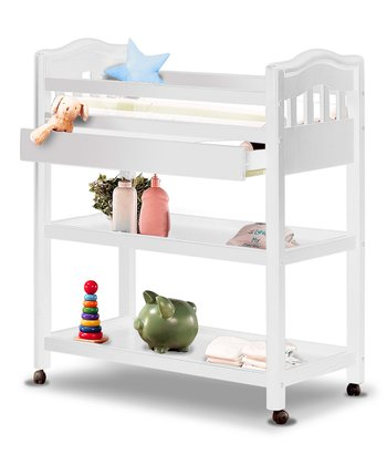 French White Sophia Changing Table
