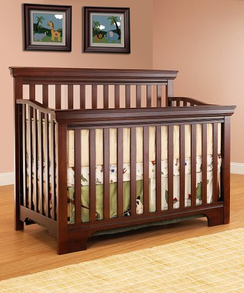 Cherry Robin Convertible Crib