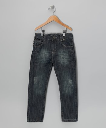 Dark Denim Skinny Jeans - Toddler & Boys