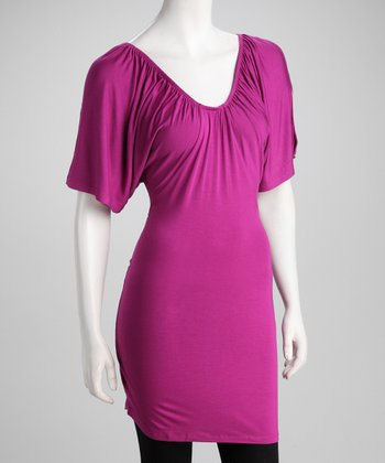 Soul Revival Fuchsia Cutout Kelly Dress