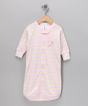 Pink Stripe Sleeping Sack