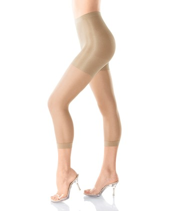 Original Footless Body-Shaping Sheer Pantyhose - Nude