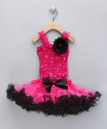 Fuchsia Lucy Pettiskirt Set - Toddler & Girls