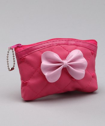 Dark Pink Small Purse