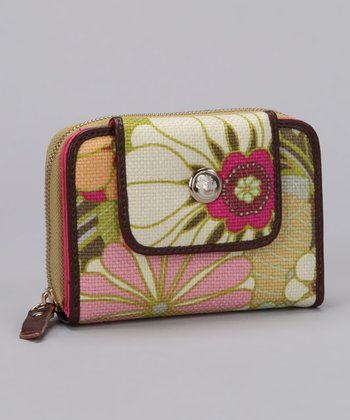 Camellia French Wallet