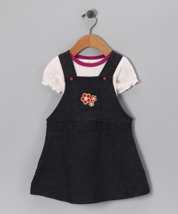 Spencer's Purple Tee & Navy Jumper - Infant
