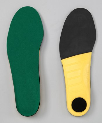 Green Polysorb Cross-Trainer Insoles