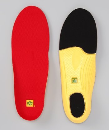 Red Polysorb Walker/Runner Insoles - Women & Men