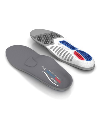 Gray Total Support Thin Insoles