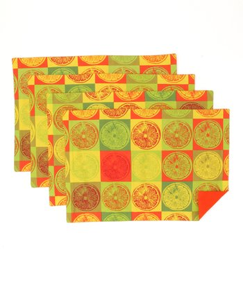 Citrus Place Mat - Set of Four